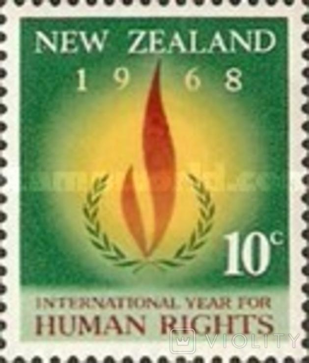 Новая Зеландия 1968 события