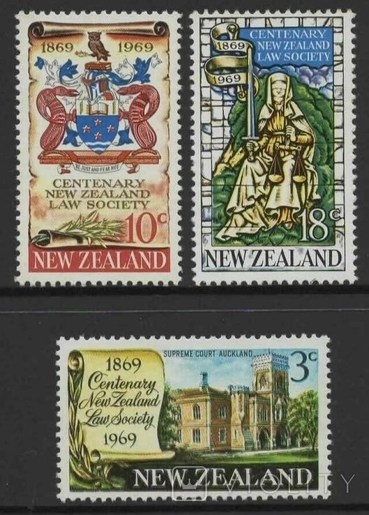 Новая Зеландия 1969 события