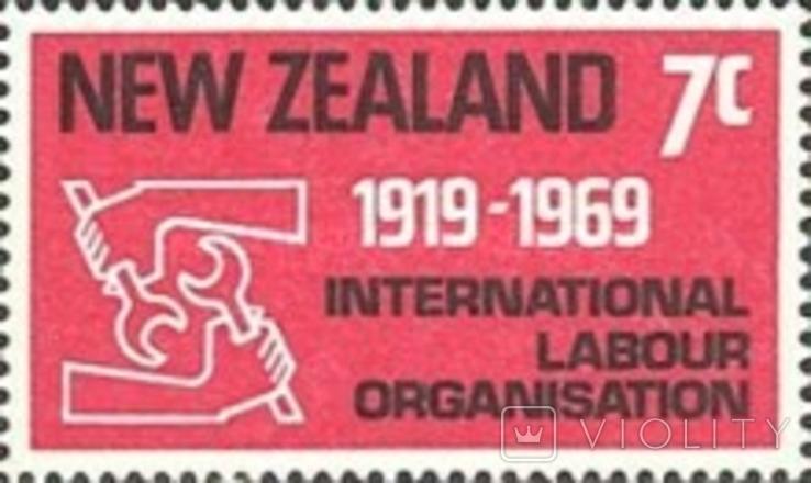 Новая Зеландия 1969 сотрудничество