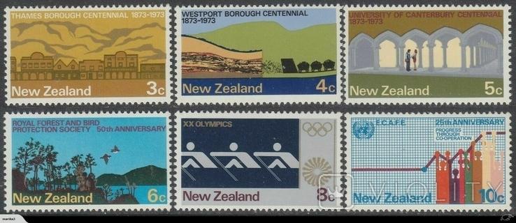 Новая Зеландия 1973 события