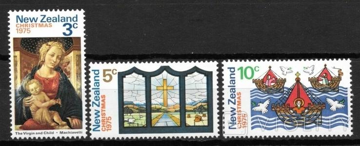 Новая Зеландия 1975 Рождество