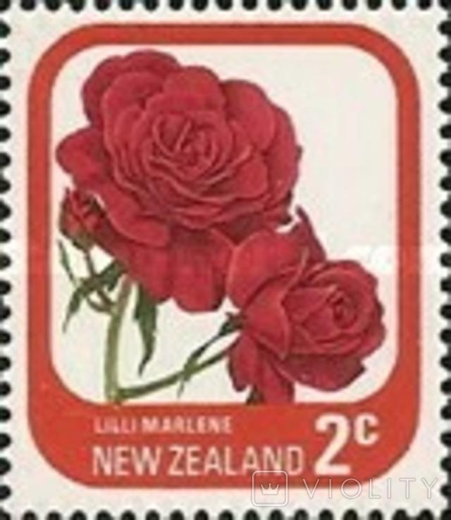 Новая Зеландия 1975 стандарт, розы