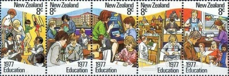 Новая Зеландия 1977 образование (полоска)