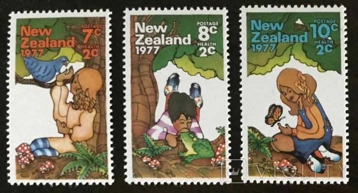 Новая Зеландия 1977 дети