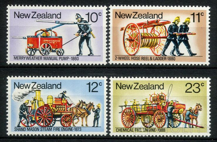 Новая Зеландия 1977 пожарный транспорт