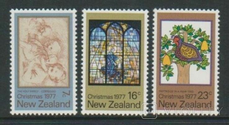 Новая Зеландия 1977 Рождество