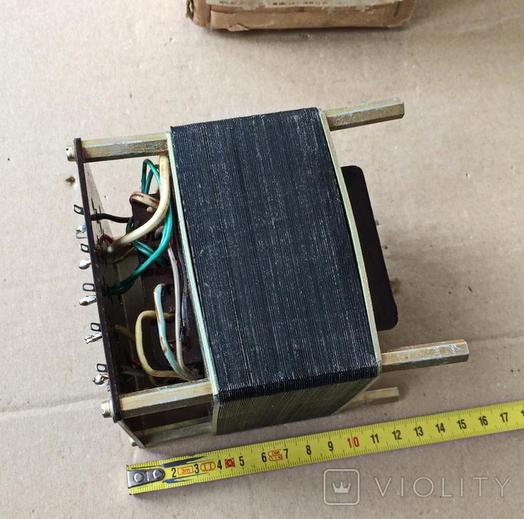 Радиодетали разные, трасформатор., фото №8