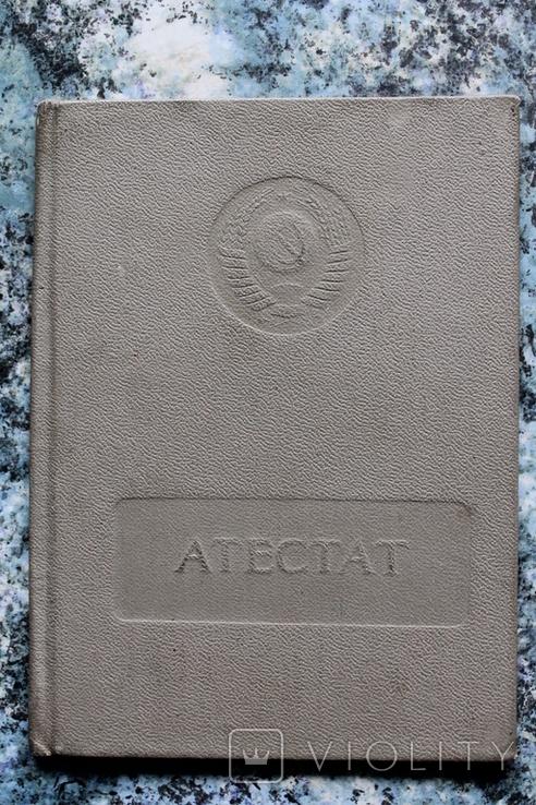 Атестат Офіціант судовий Одеса 1978 р., фото №6