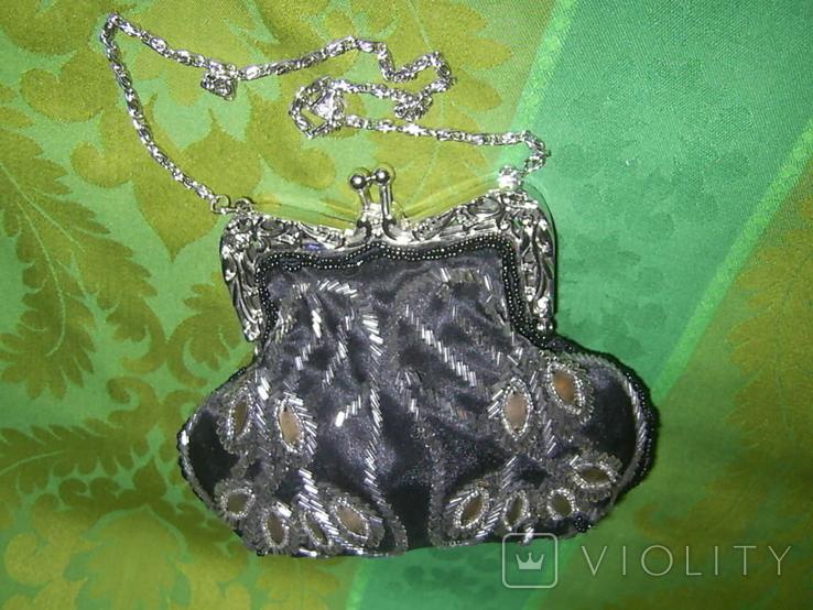 Атласная сумочка, фото №6