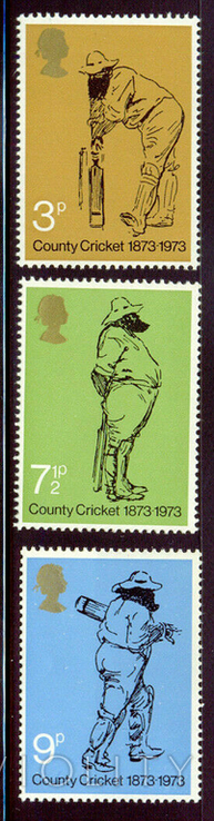 Великобритания 1973 крикет