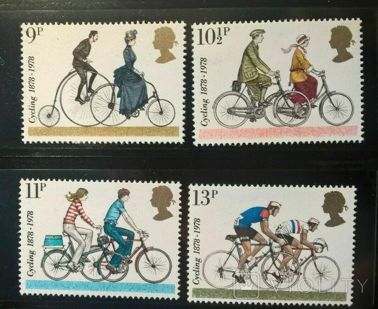 Великобритания 1978 организация велосипедистов