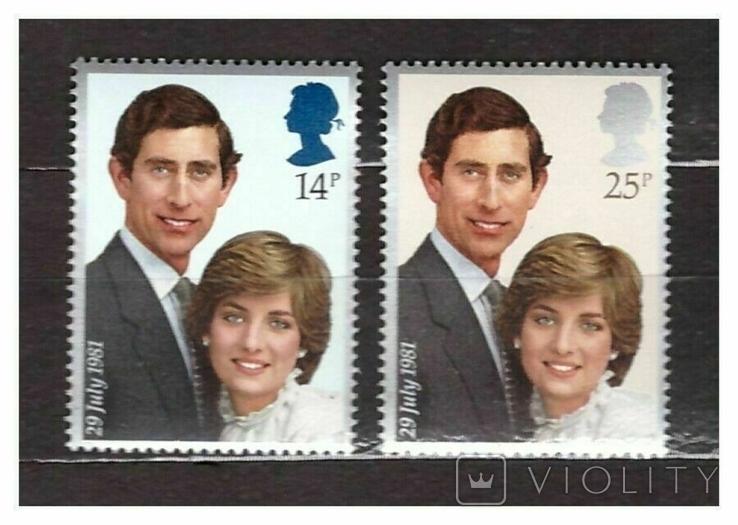 Великобритания 1981 королевский юбилей
