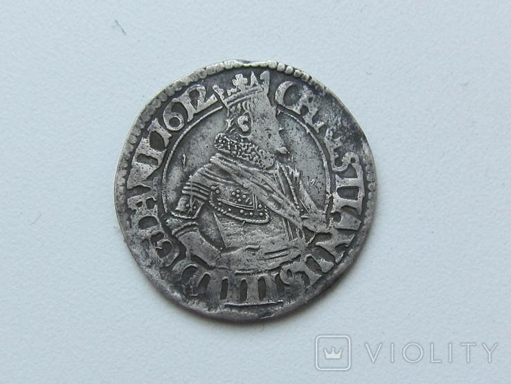 Датская марка 1612 Кристиан 4     2