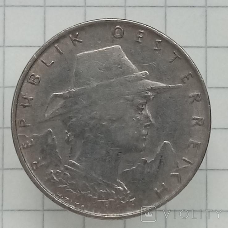 10 грош 1925г Австрия H.Zita никель2, фото №3
