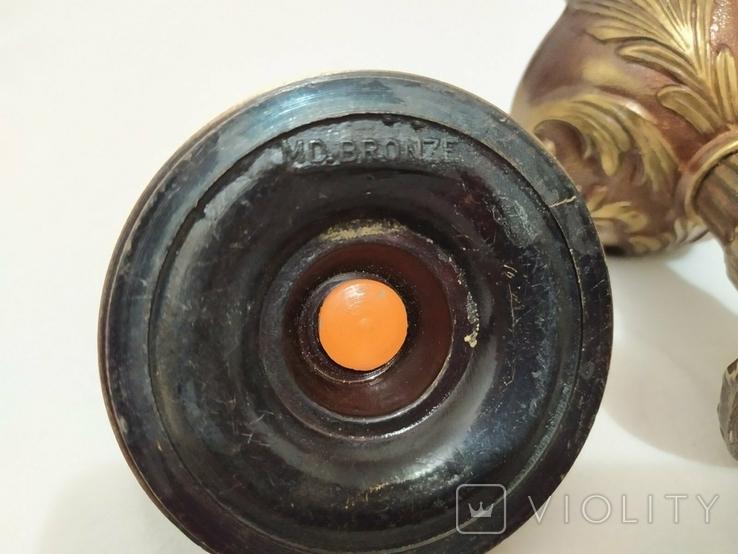 Чаша кубок из бронзы, фото №5