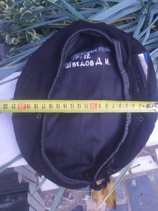 Берет морской подпись, фото №11