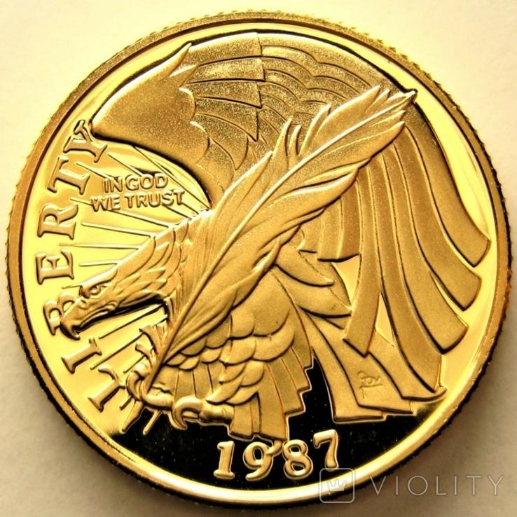 США 5 долларов 1987 г.  200 лет конституции Пруф