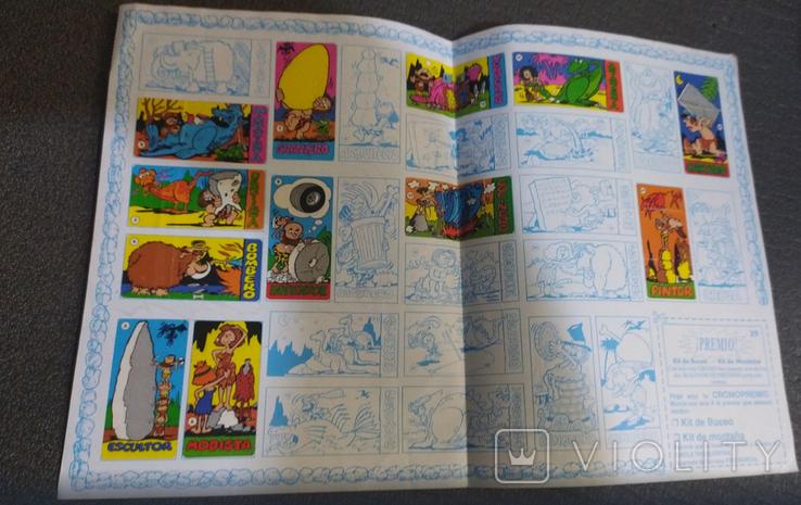 Альбом Лос троглодитос с наклейками, фото №3