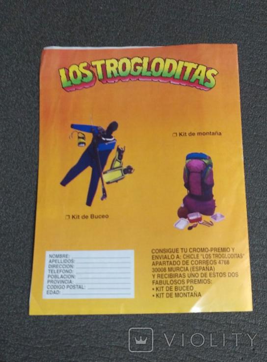 Альбом Лос троглодитос с наклейками, фото №4