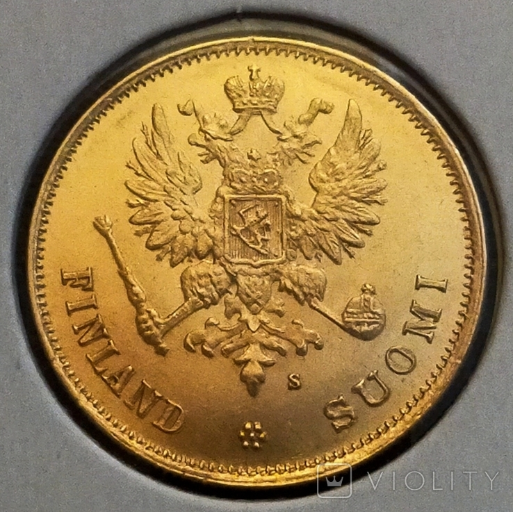 10 марок 1878 для Финляндии, фото №4