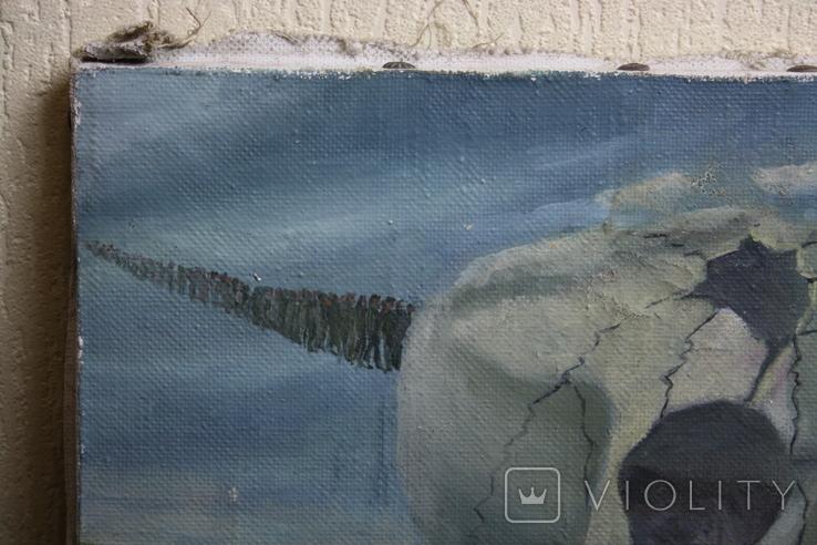 Абстракция  худ.  Павлюк  1995г., фото №4