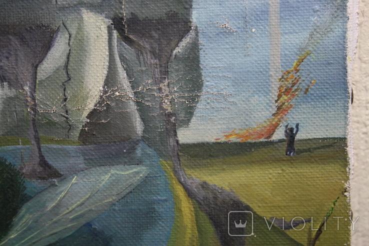 Абстракция  худ.  Павлюк  1995г., фото №7