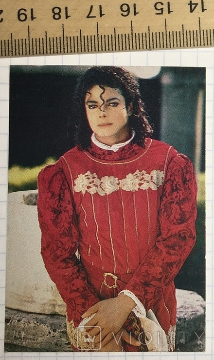 Календарик Michael Jackson, 1990 г. /  Майкл Джексон, фото №2