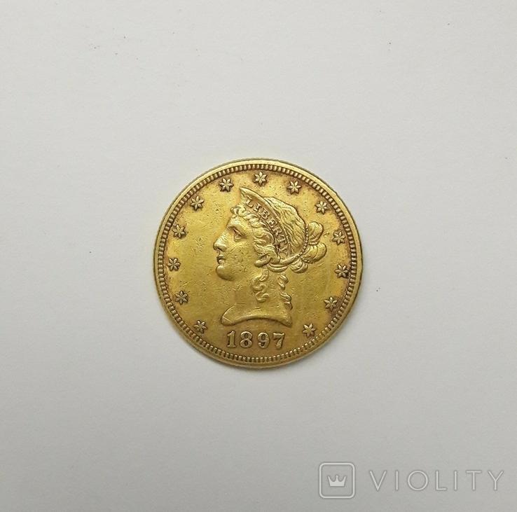 10 долларов США, 1897 (Филадельфия)