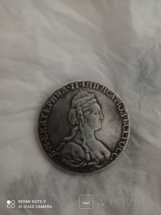 Копия рубля 1779 года, фото №2