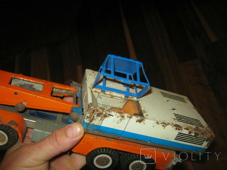 Автокран Varik, сталь. На восстановление., фото №9