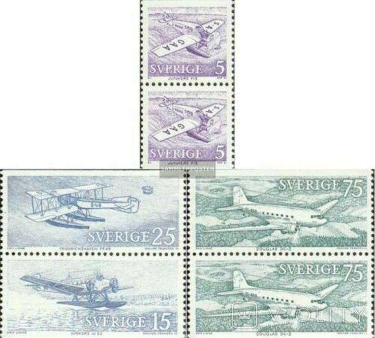 Швеция 1972 авиапочта