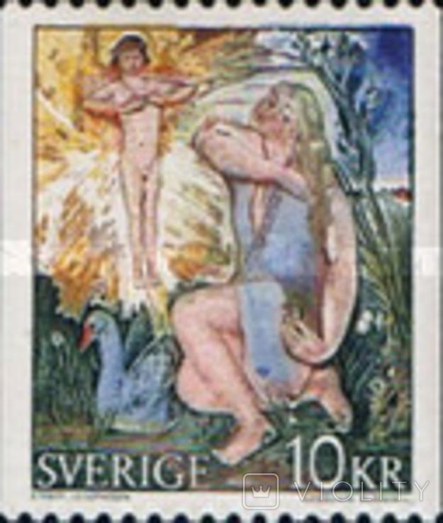 Швеция 1973 живопись