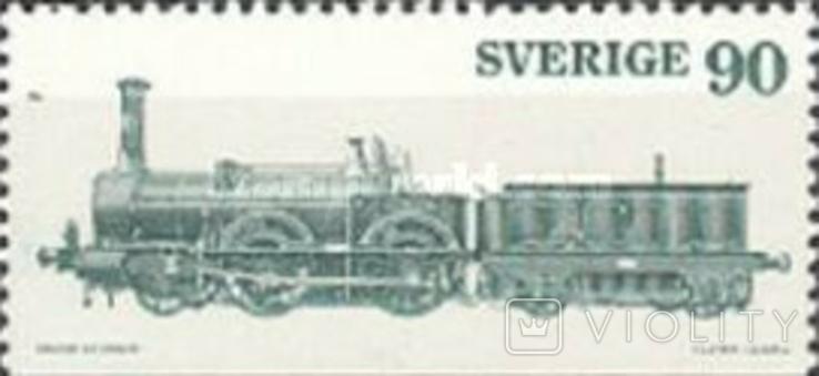 Швеция 1975 шведские локомотивы, фото №2