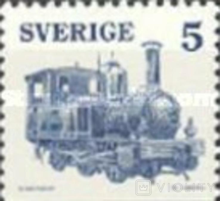 Швеция 1975 шведские локомотивы, фото №4
