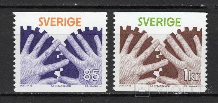 Швеция 1976 индустрия