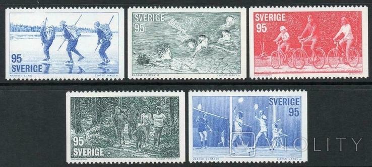 Швеция 1977 спорт