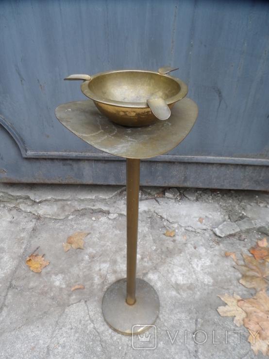 Пепельница напольная Латунь металл Европа, фото №2
