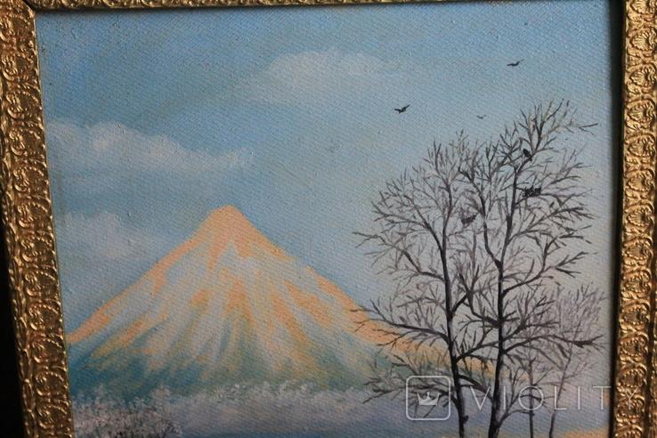Картина Горный пейзаж, фото №3