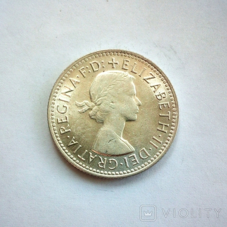 Австралия 1 шиллинг 1959 г., фото №4