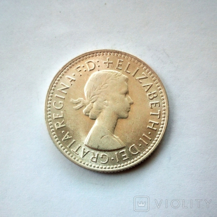 Австралия 1 шиллинг 1959 г., фото №5