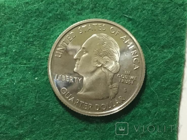 25 центов сша 2006, фото №3