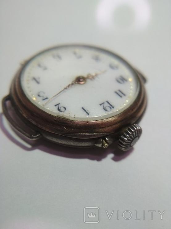 Часы серебряные швейцарские , старинные Cylindre., фото №6