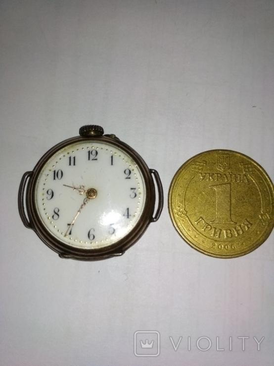 Часы серебряные швейцарские , старинные Cylindre., фото №9