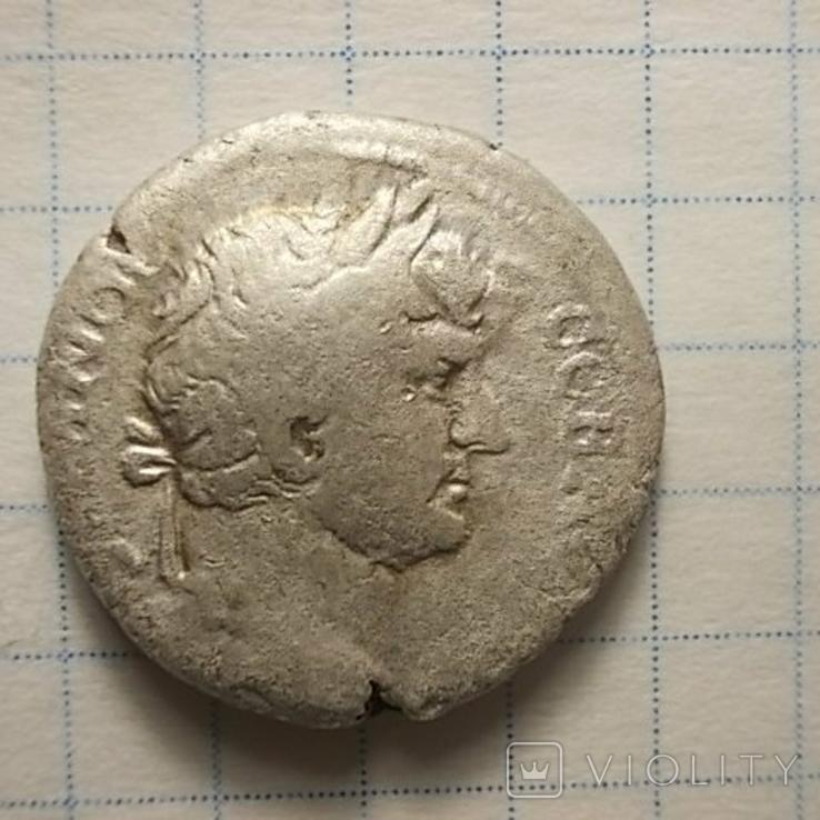 Адриан, дидрахма, г. Кесария Каппадокийская., фото №4