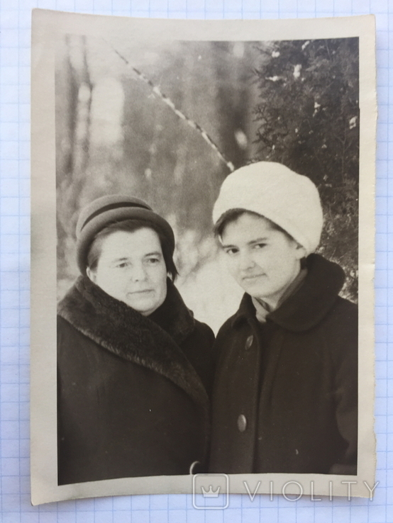 Фото. Две женщины. Зима., фото №2