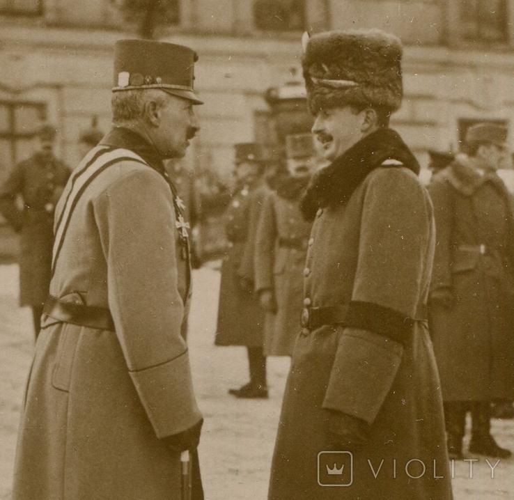 Австро-Венгрия. Посещение Императором Карлом Генерального Штаба, фото №2