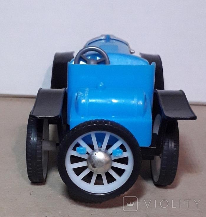 Ретро машинка из СССР игрушка КРУГОЗОР кабриолет, фото №7