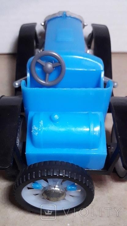 Ретро машинка из СССР игрушка КРУГОЗОР кабриолет, фото №9