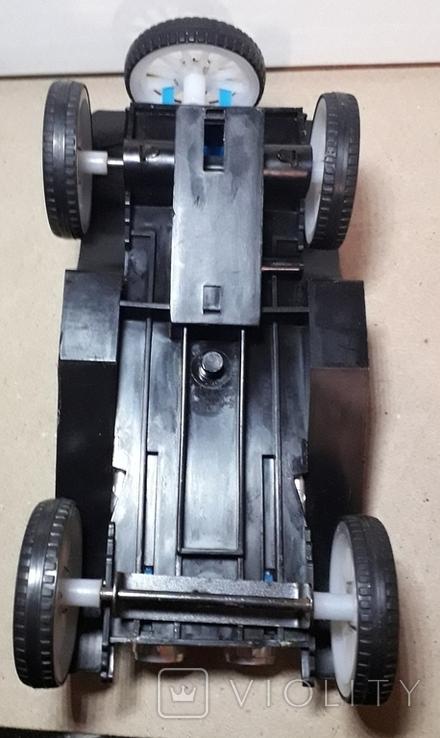 Ретро машинка из СССР игрушка КРУГОЗОР кабриолет, фото №11