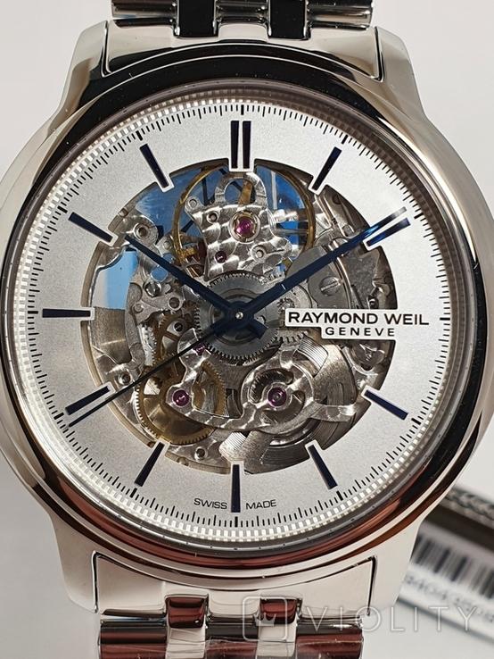 Новые Raymond Weil Maestro Skeleton 2215 2215-ST-65001, фото №6